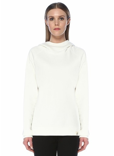 Blender Originated Blender Originated  Kapüşonlu Reglan Kol Sweatshirt 101509809 Beyaz